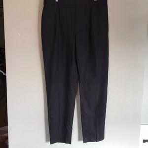 Zara pinstripe navy pants, size XL